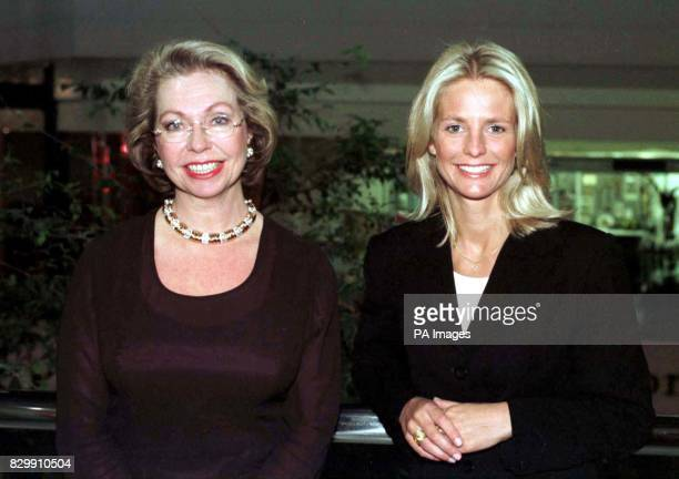 Princess Christina Mrs Magnuson of Sweden with TV presenter Ulrika Jonsson as they attend the 'Sounds of Sweden' concert held at The City of...