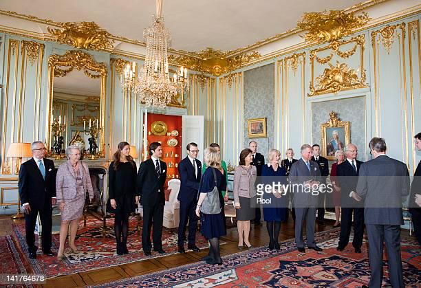 Princess Christina Mrs Magnuson Princess Madeleine of Sweden Prince Carl Philip of Sweden Prince Daniel Duke of Vastergotland Crown Princess Victoria...
