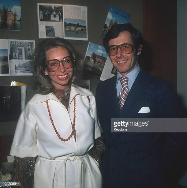 Princess Christina of Sweden and her husband Tord Magnuson in 1975