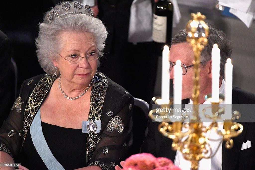 Nobel Prize Banquet 2014, Stockholm : Foto jornalística