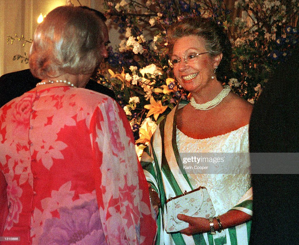Royalty and Supreme Court Justices at Opera Ball : News Photo