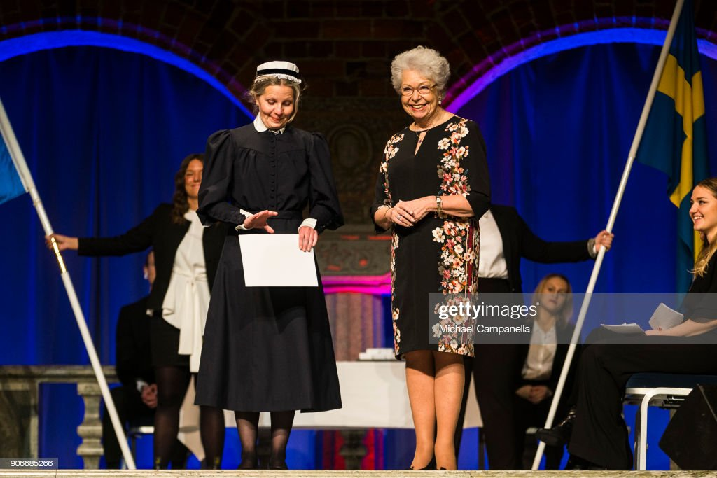 Princess Sofia of Sweden Attends Sophiahemmet's Graduation Ceremony : ニュース写真