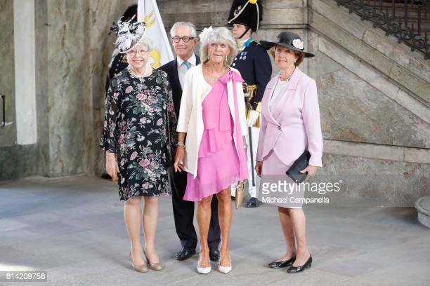Princess Christina of Sweden Tord Magnuson Princess Birgitta of Sweden and Princess Desiree of Sweden arrive for a thanksgiving service on the...