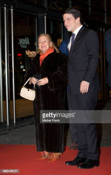 Princess Christina of The Netherlands and Prince Bernardo attend a celebration of the reign of Princess Beatrix on February 1 2014 in Rotterdam...