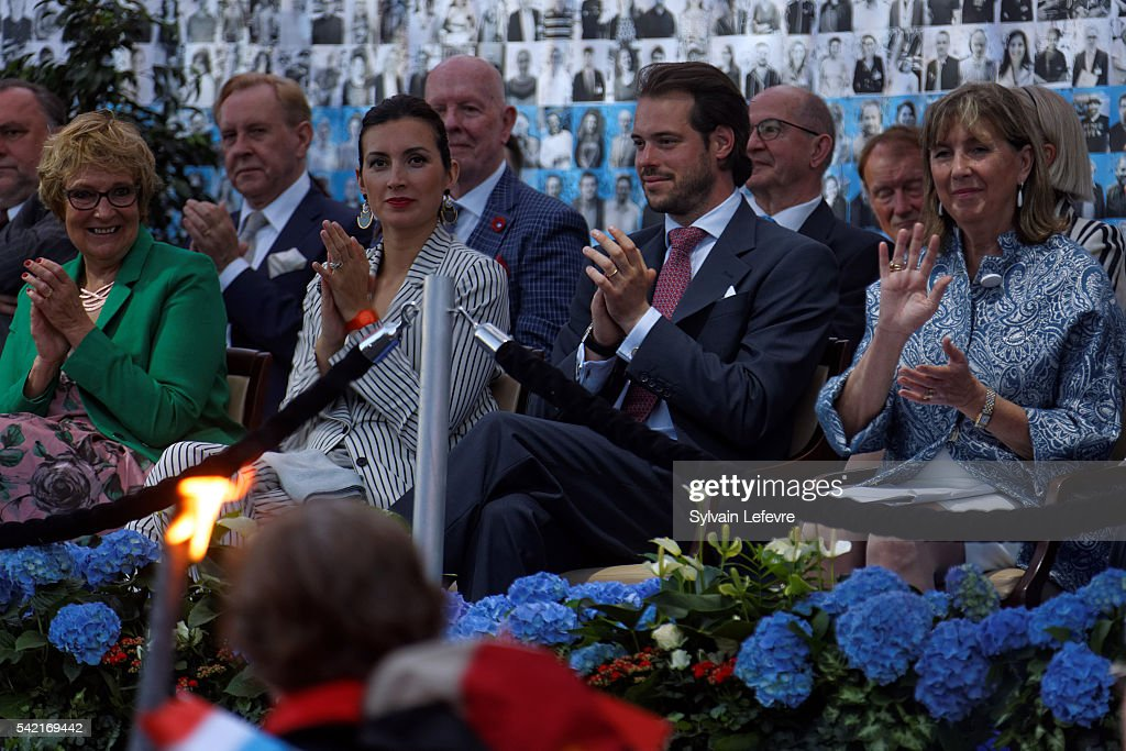 Princess Claire and Prince Felix of Luxembourg celebrate National Day on June 21, 2016 in Luxembourg, Luxembourg.