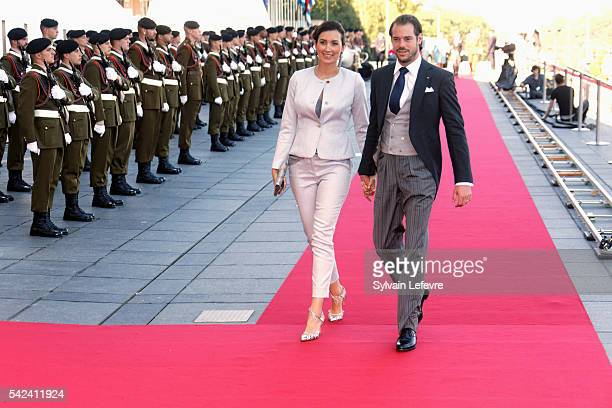 Princess Claire and Prince Felix of Luxembourg celebrate National Day at Philarmonie on June 22 2016 in Luxembourg Luxembourg