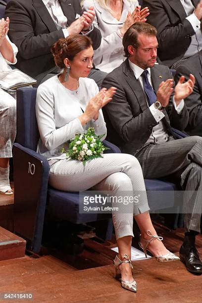 Princess Claire and Prince Felix of Luxembourg celebrate National Day 2 at Philarmonie on June 23 2016 in Luxembourg Luxembourg