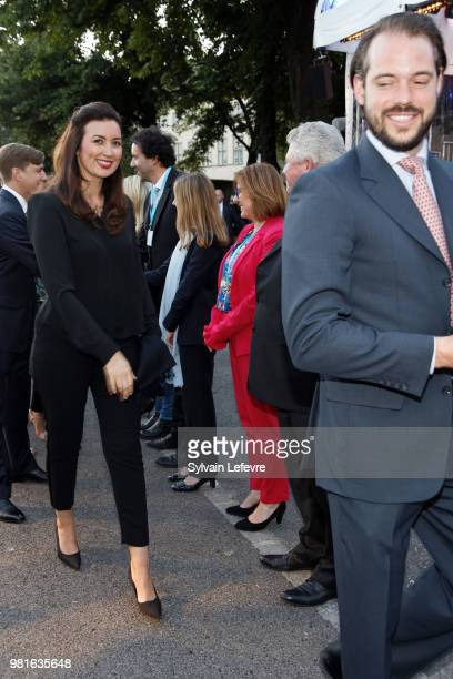 Princess Claire and Prince Felix of Luxembourg celebrate National Day on June 22 2018 in Luxembourg Luxembourg