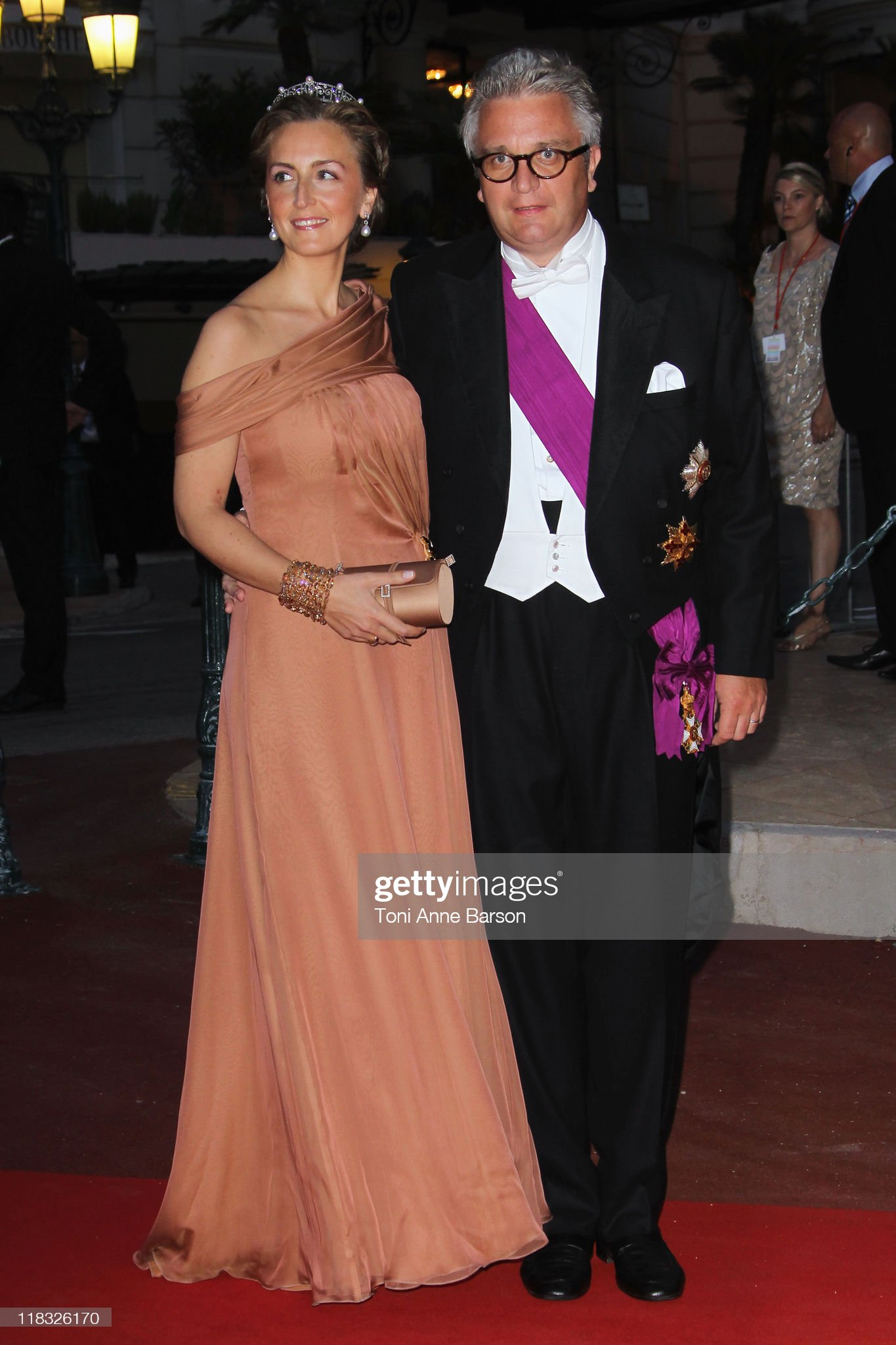 Monaco Royal Wedding - Dinner and Fireworks : News Photo