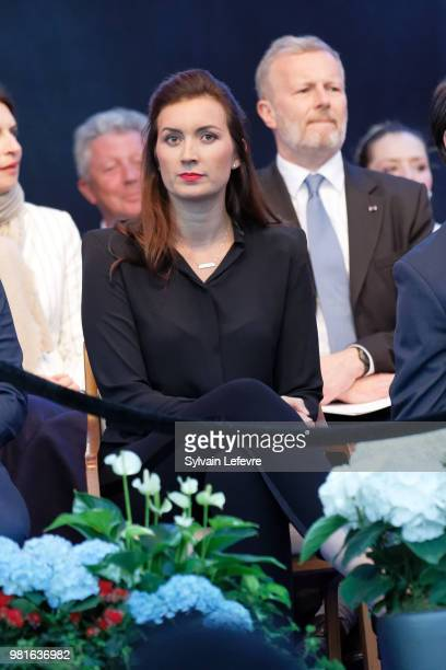Princess Claire of Luxembourg celebrates National Day on June 22 2018 in Luxembourg Luxembourg