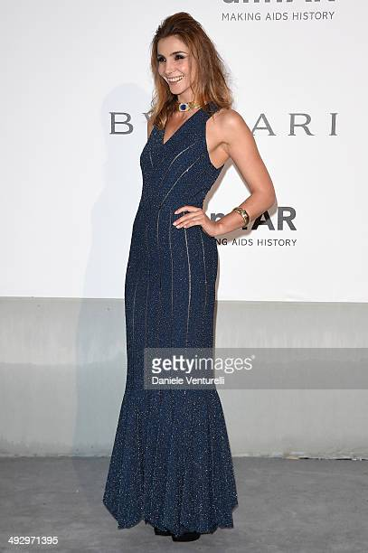 Princess Clotilde of Savoy Princess of Venice and Piedmont wearing BVLGARI attends amfAR's 21st Cinema Against AIDS Gala Presented By WORLDVIEW BOLD...