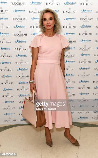 Princess Corinna Sayn Wittgenstein attends the Women4Walkabout Ladies Luncheon Sponsored By Buccellati at Claridges Hotel on June 16, 2017 in London,...