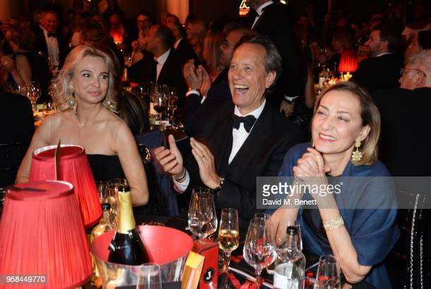 Princess Corinna zu SaynWittgenstein Richard E Grant and Maria Cristina Buccellati attend The Old Vic Bicentenary Ball to celebrate the theatre's...