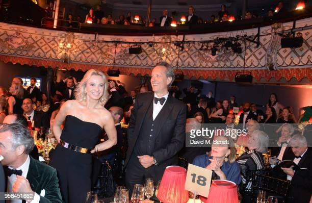 Princess Corinna zu Sayn-Wittgenstein, Richard E. Grant and Maria Cristina Buccellati attend The Old Vic Bicentenary Ball to celebrate the theatre's...