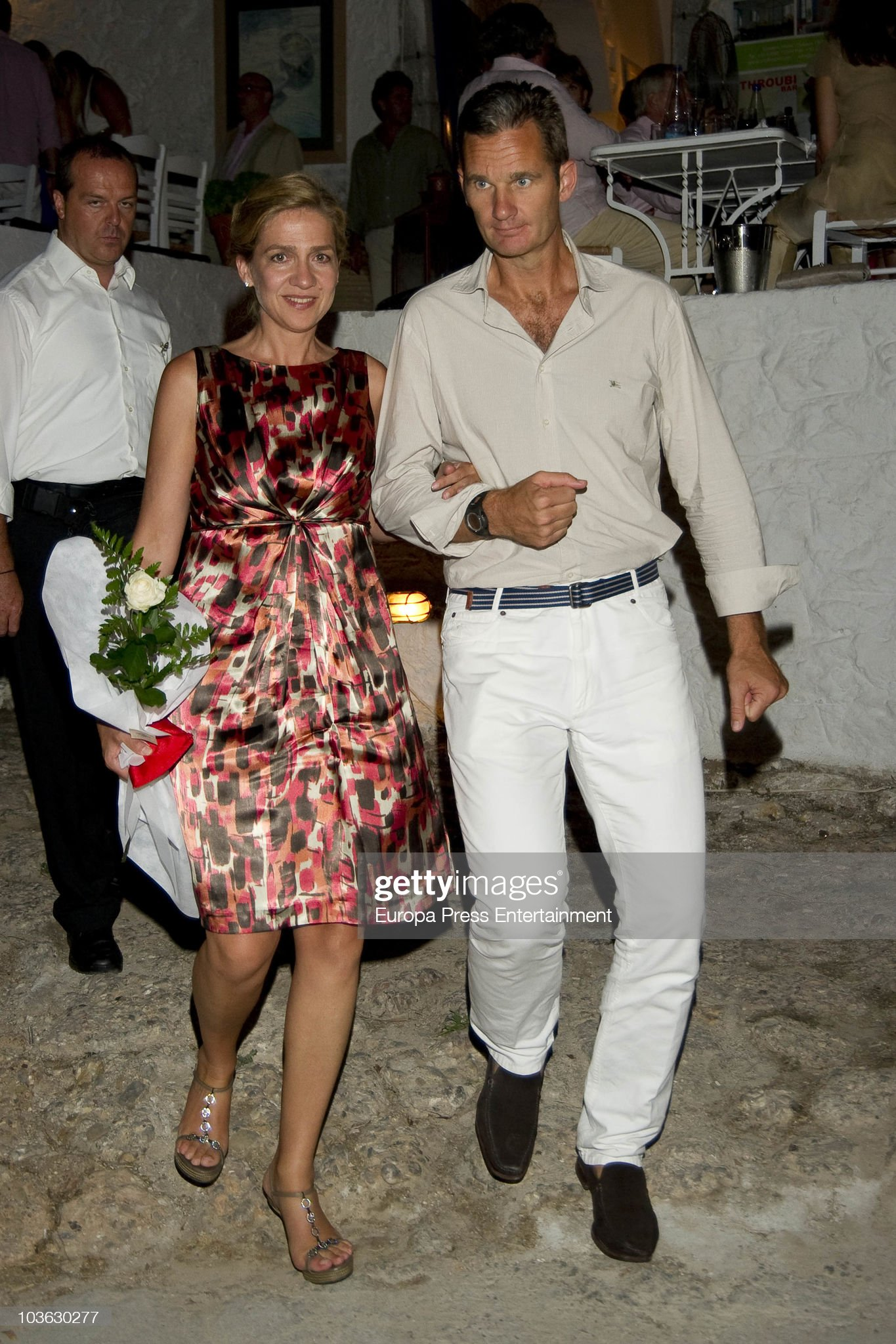Wedding of Prince Nikolaos and Tatiana Blatnik - Dinner For Young People : News Photo