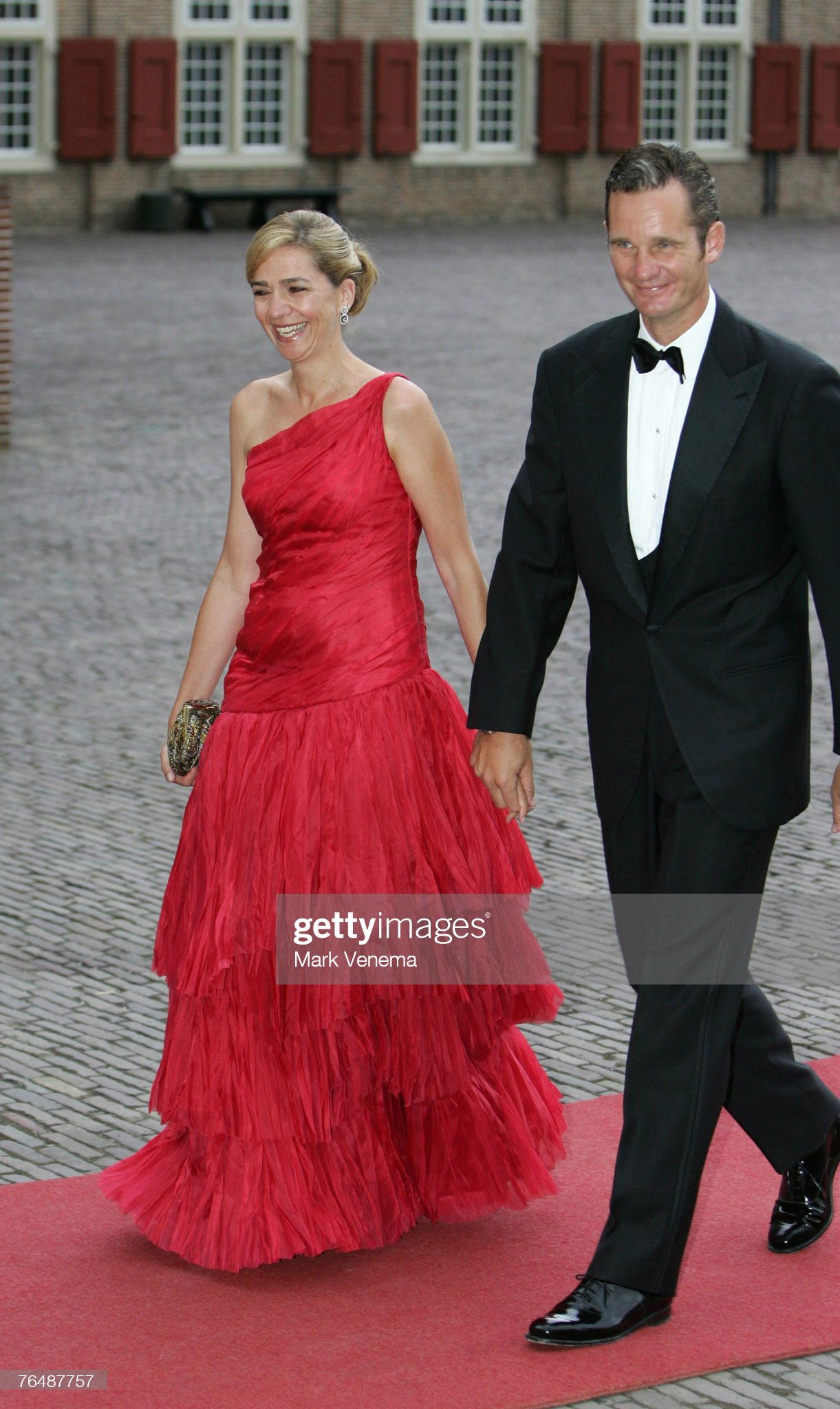 Birthday Party HRH Crown Prince Willem-Alexander of the Netherlands -Arrivals : News Photo