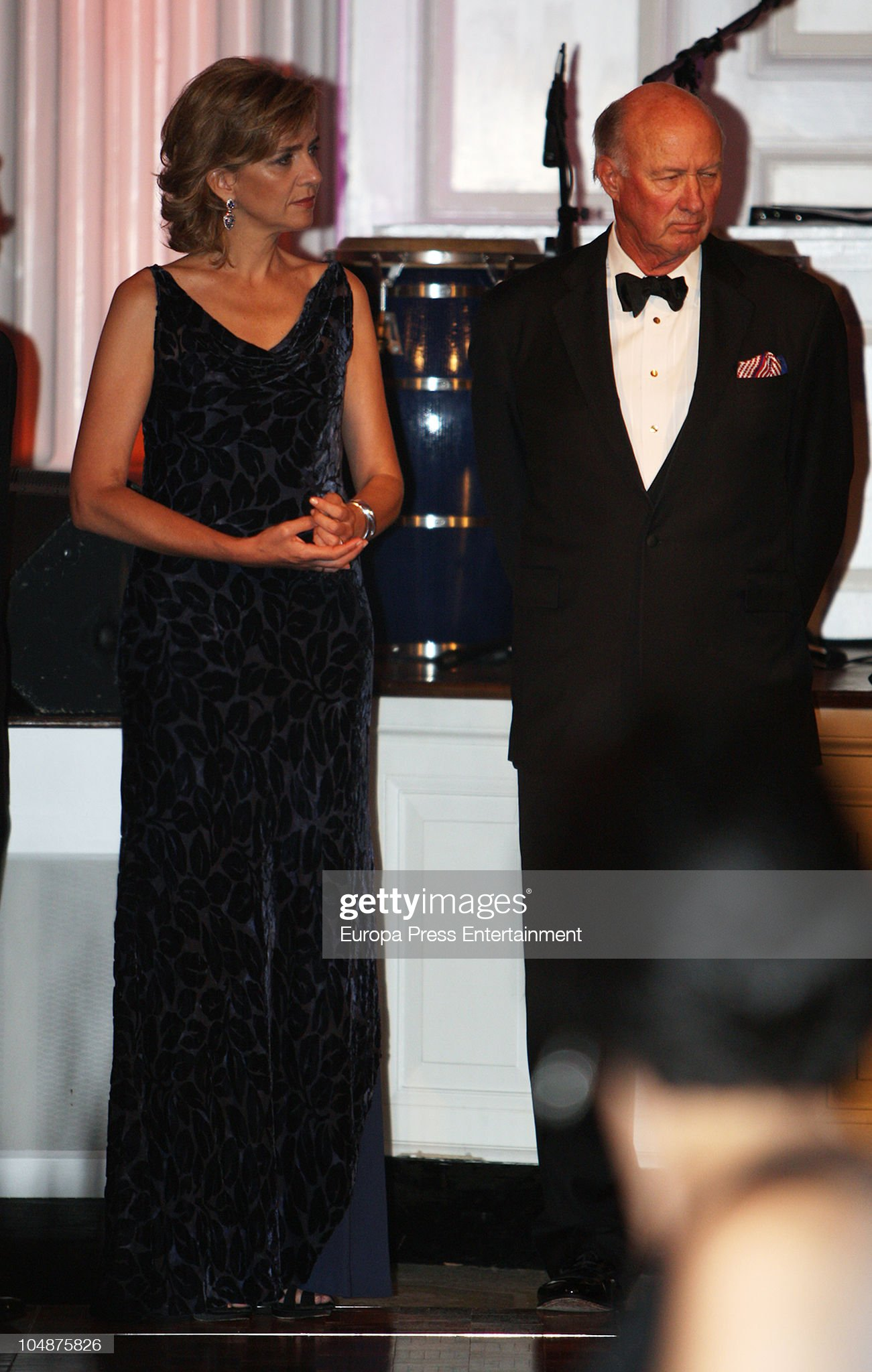 Princess Cristina Attends Sorolla Medal Gala In New York : News Photo