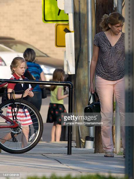 d69494f1f7f Princess Cristina of Spain and her daughter Irene Urdangarin are seen on March  23 2012 in