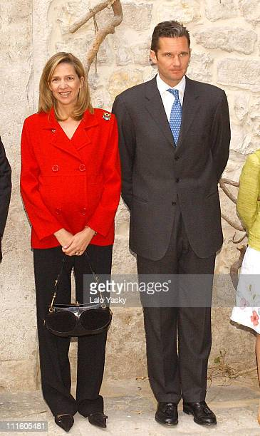 Princess Cristina of Spain and husband Inaki Urdangarin