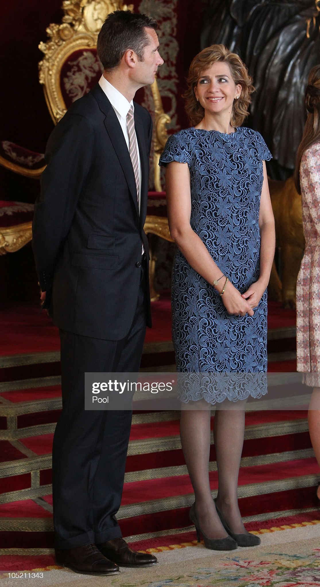 Spain's National Day Royal Reception In Madrid : News Photo
