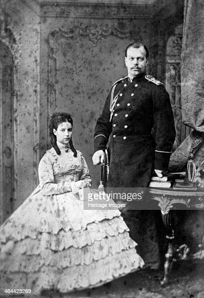 Princess Dagmar of Denmark and Grand Duke Alexander Alexandrovich of Russia 1866 The future Tsar Alexander III married Maria Feodorovna formerly...