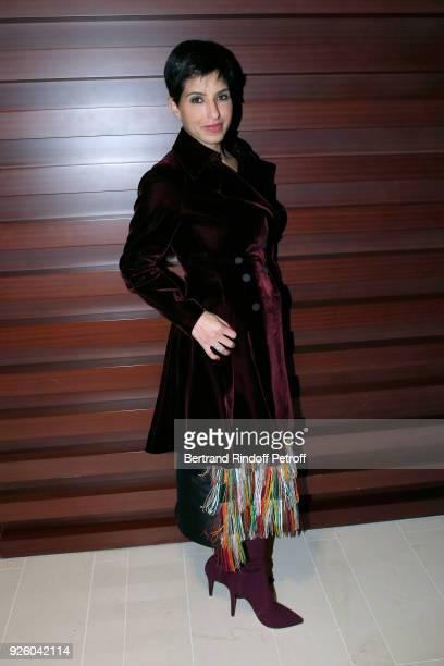 Princess Deena Aljuhani Abdulaziz attends the LVMH Prize 2018 Designers Presentation on March 1 2018 in Paris France