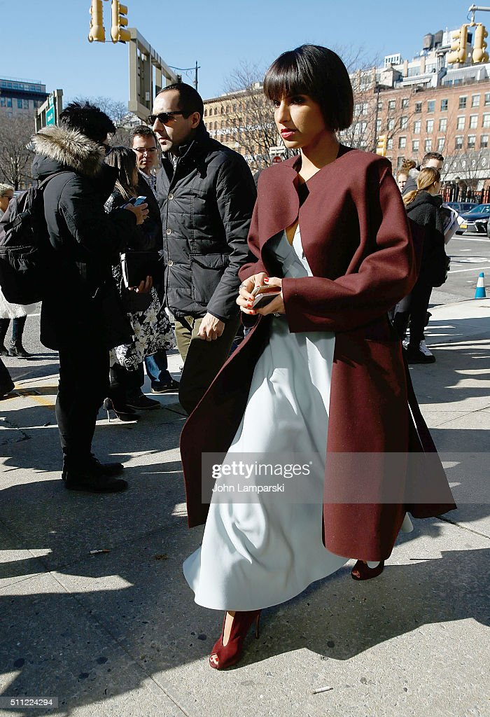 Calvin Klein Collection - Outside Arrivals - Fall 2016 New York Fashion Week: The Shows : News Photo