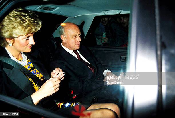 Princess Diana And Brazilian Ambassador 'Crazy For You' The Musical Prince Edward Theatre London Princessdianaretro4