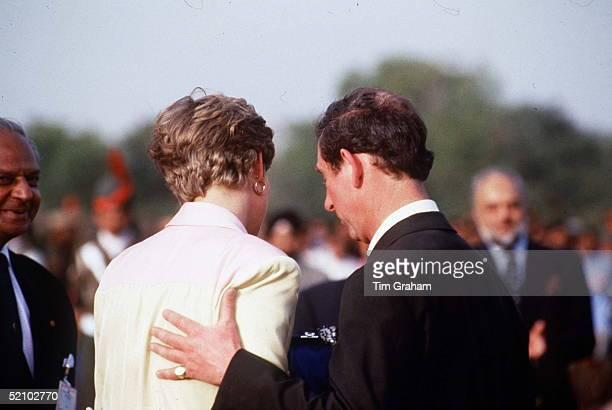 Princess Diana And Prince Charles In India