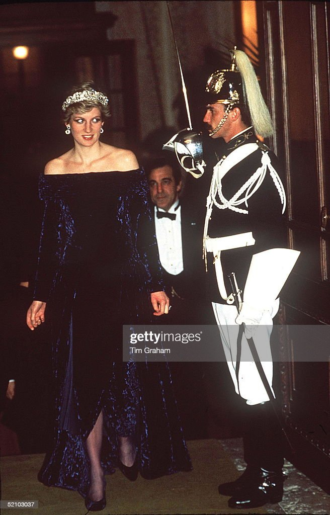 Diana In Portugal : News Photo