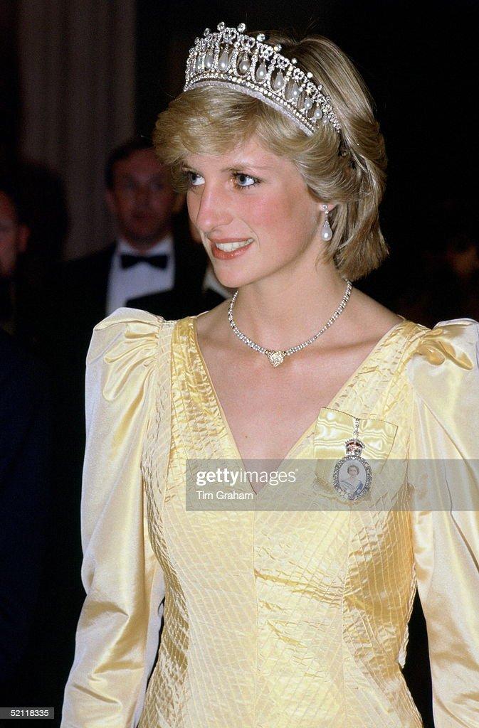 Princess Diana Banquet Canada : News Photo