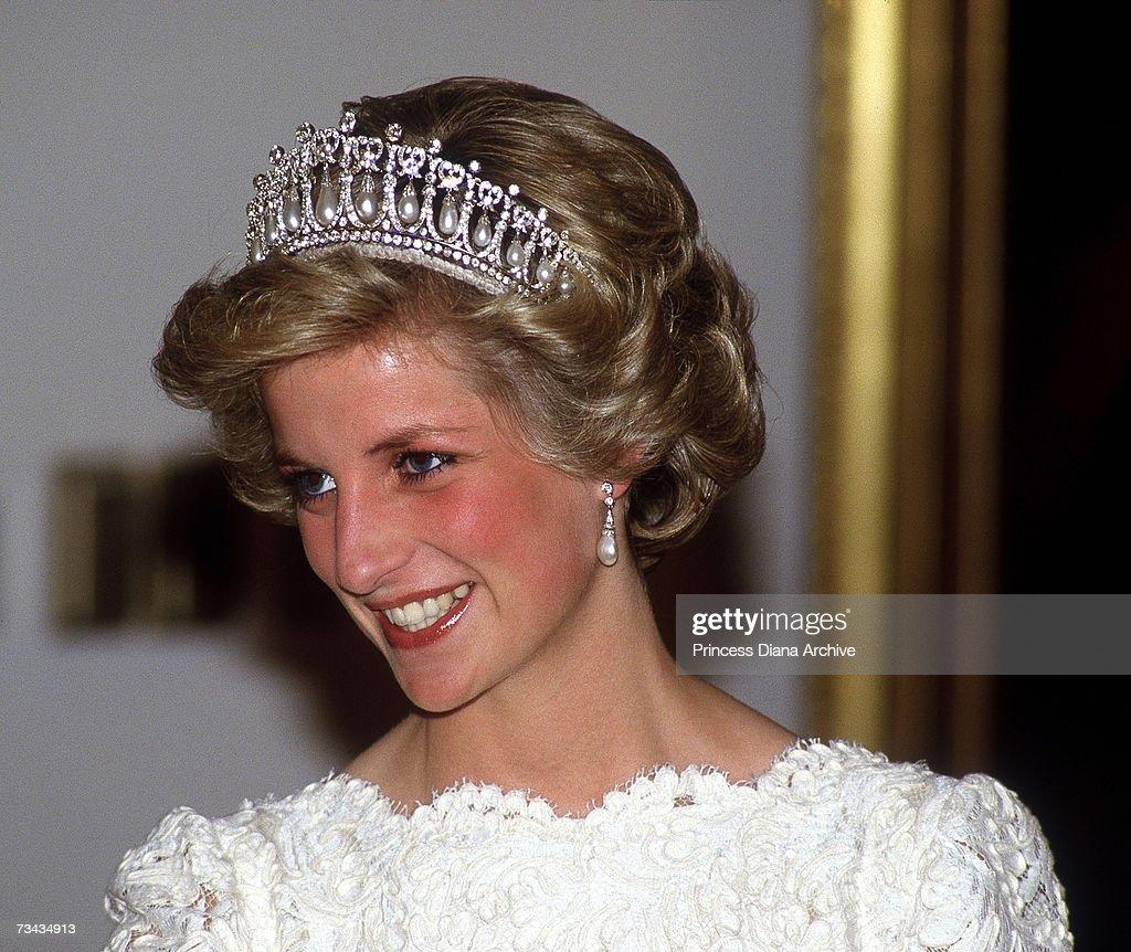 Diana In Tiara : News Photo
