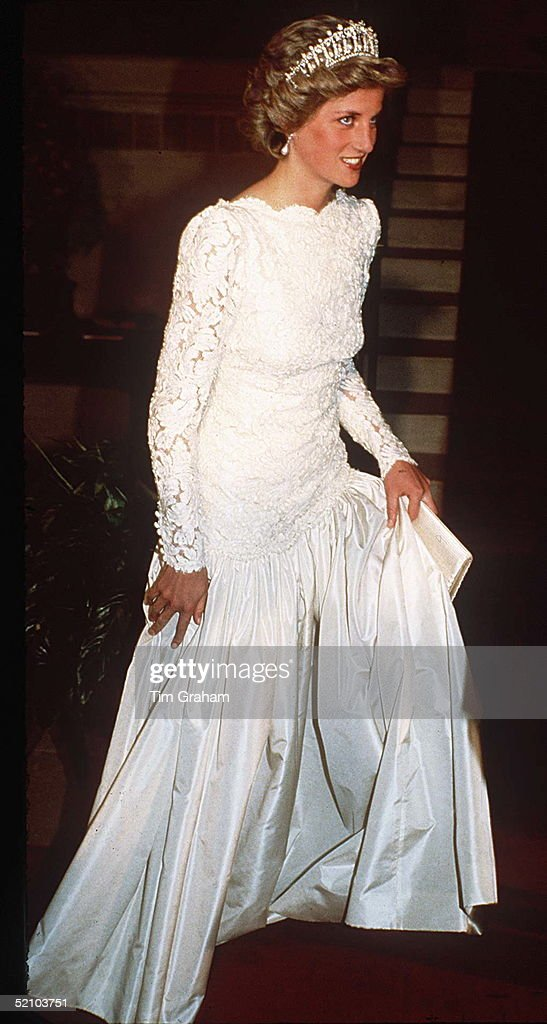 Diana Washington Murray Arbeid Dress Pictures | Getty Images