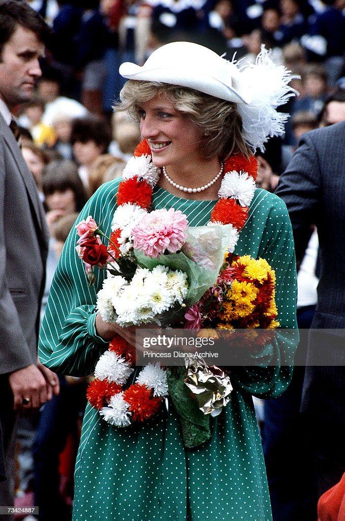 Welcoming Diana : News Photo