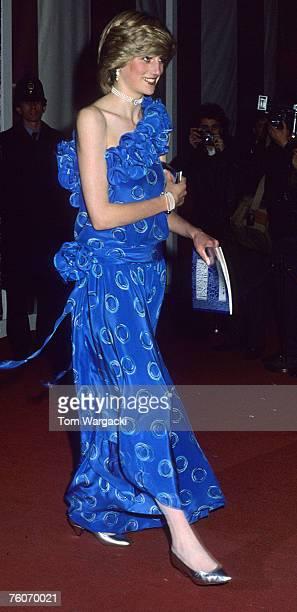 Princess Diana at Guildhall 9th November 1982
