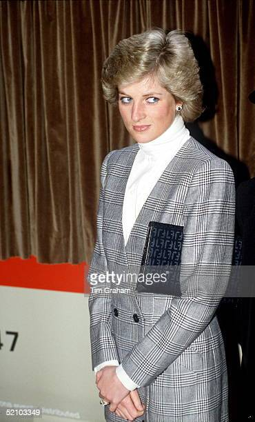 Princess Diana At Paddington Station London