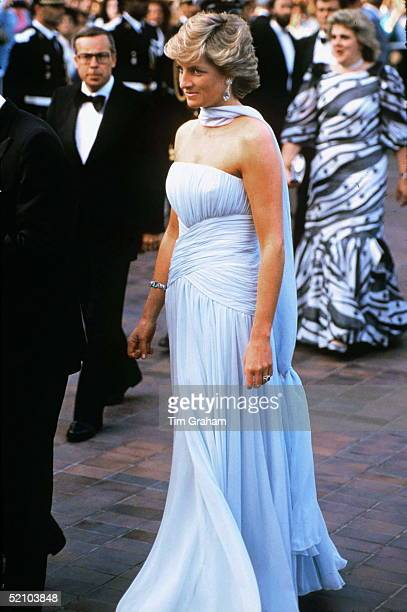 Princess Diana At The Cannes Film Festival, France.