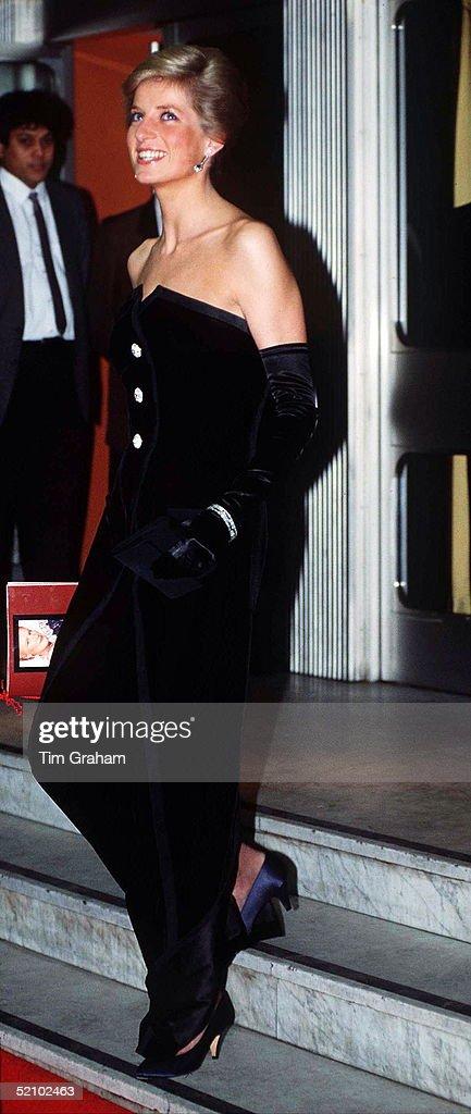 Diana In Edelstein Dress : News Photo