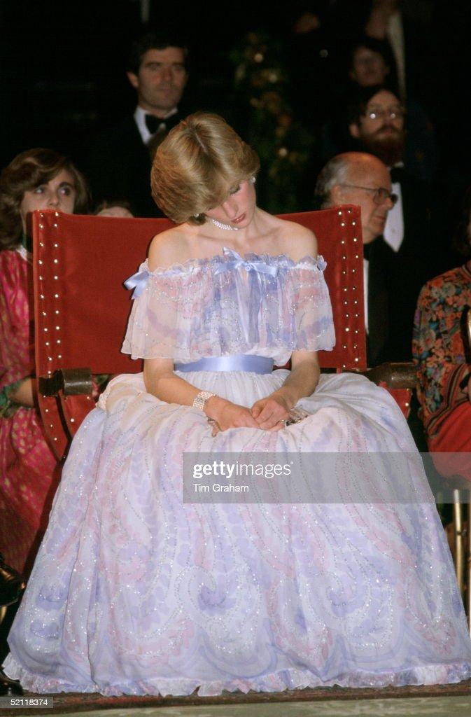 Diana Resting : News Photo