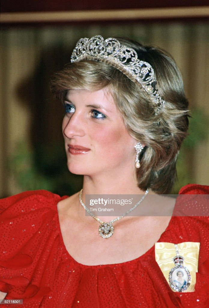 Diana In Australia : News Photo