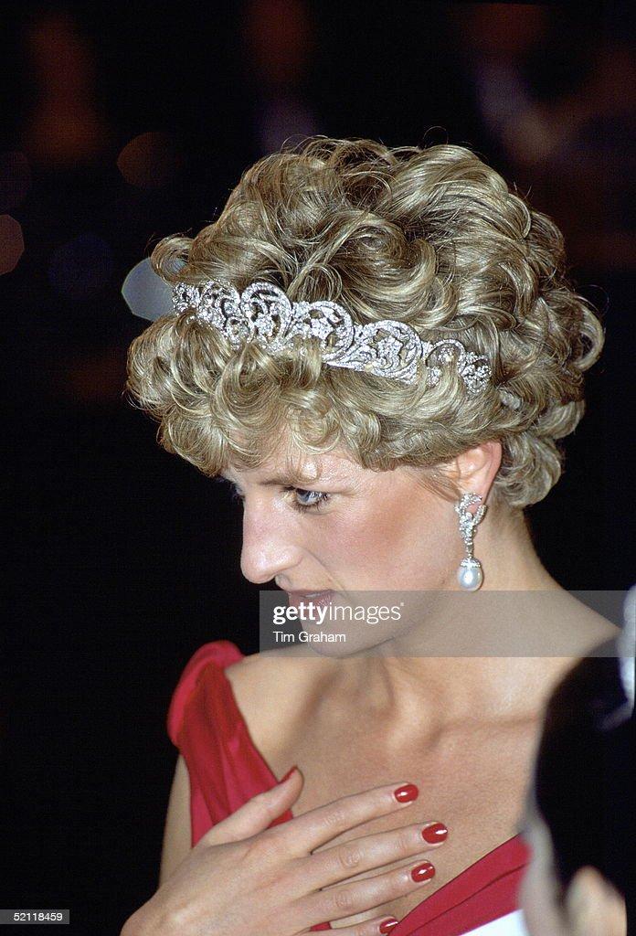 Diana In Spencer Tiara : News Photo