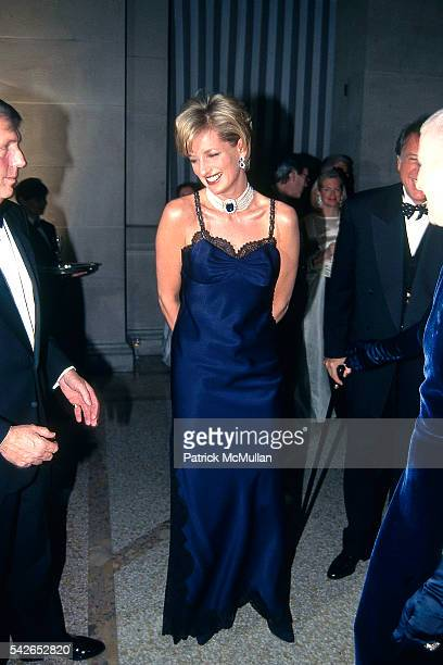 Princess Diana attends Met Gala at Metropolitan Museum of Art on January 1 1995 in New York City