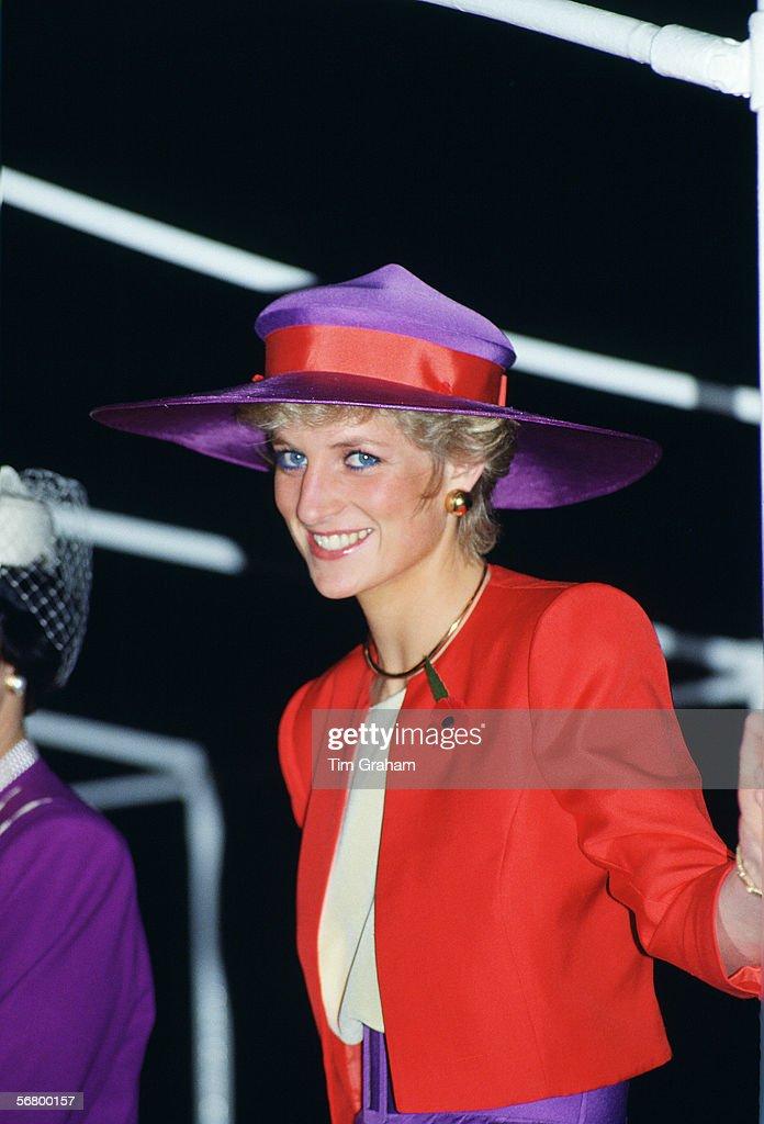Diana In Hong Kong : News Photo