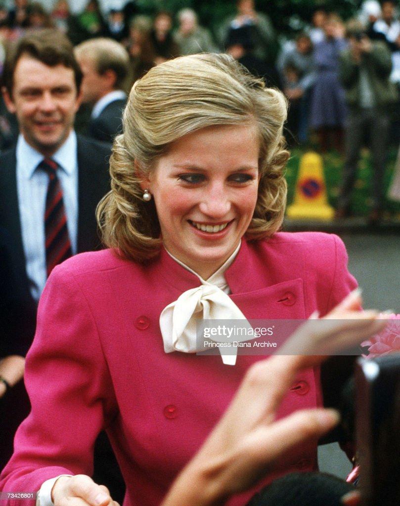 Diana In Ealing : News Photo