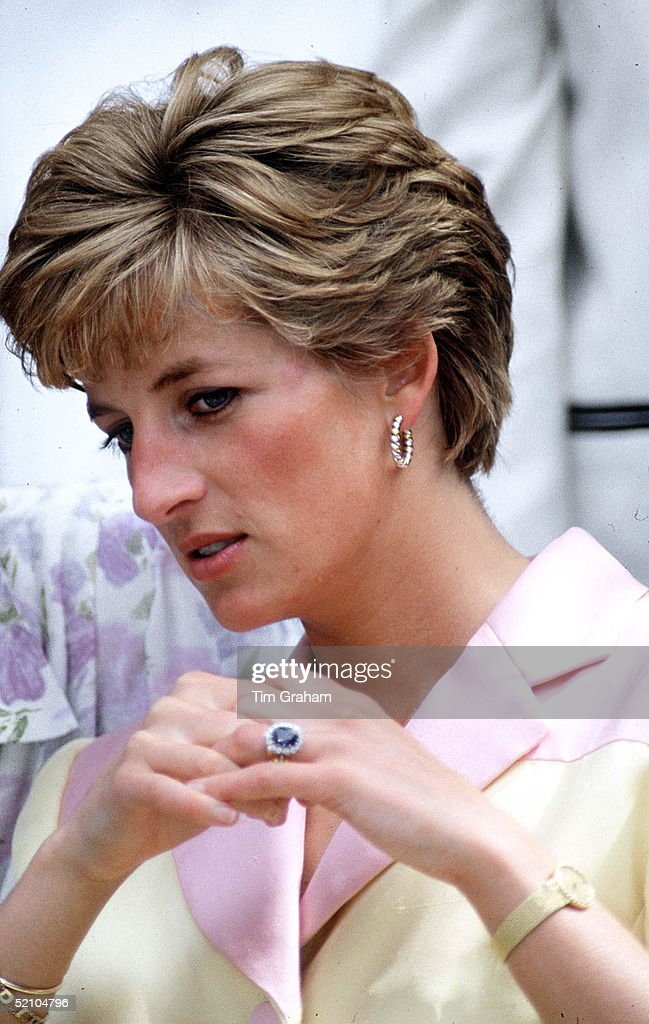 princess diana engagement ring wedding ring and watch - Princess Diana Wedding Ring