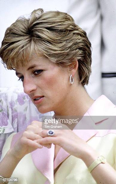 Princess Diana Engagement Ring Wedding Ring And Watch