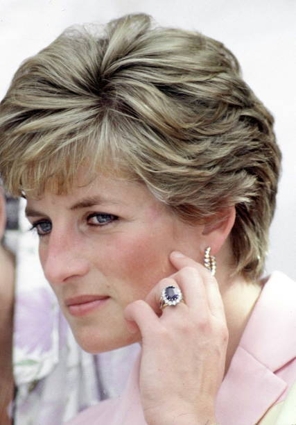 princess diana engagement ring wedding ring watch gold earrings - Princess Diana Wedding Ring