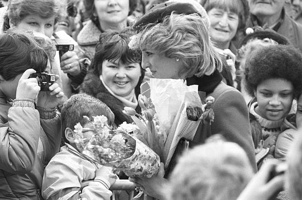 Princess Diana Walkabout