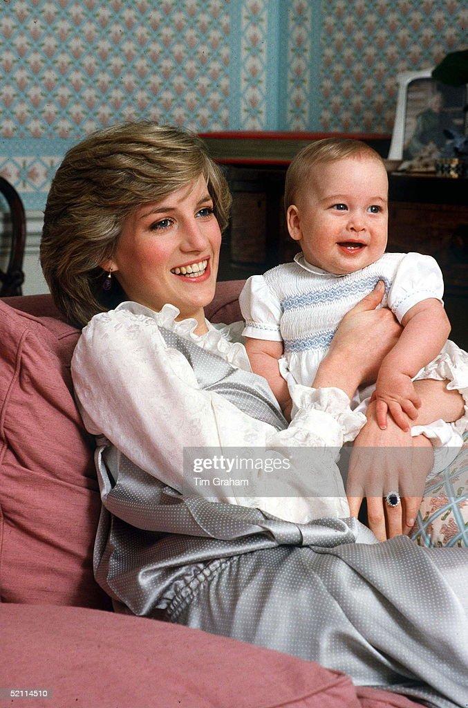 Diana Baby William : News Photo