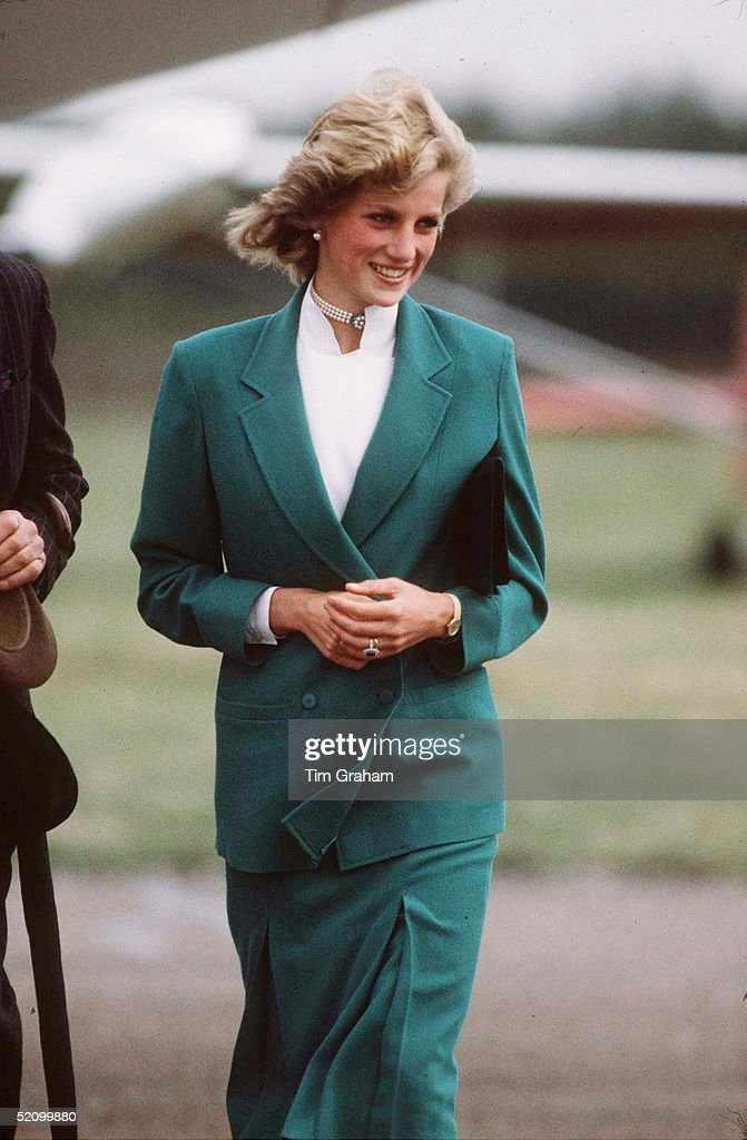 Diana Jasper Conran Suit : News Photo